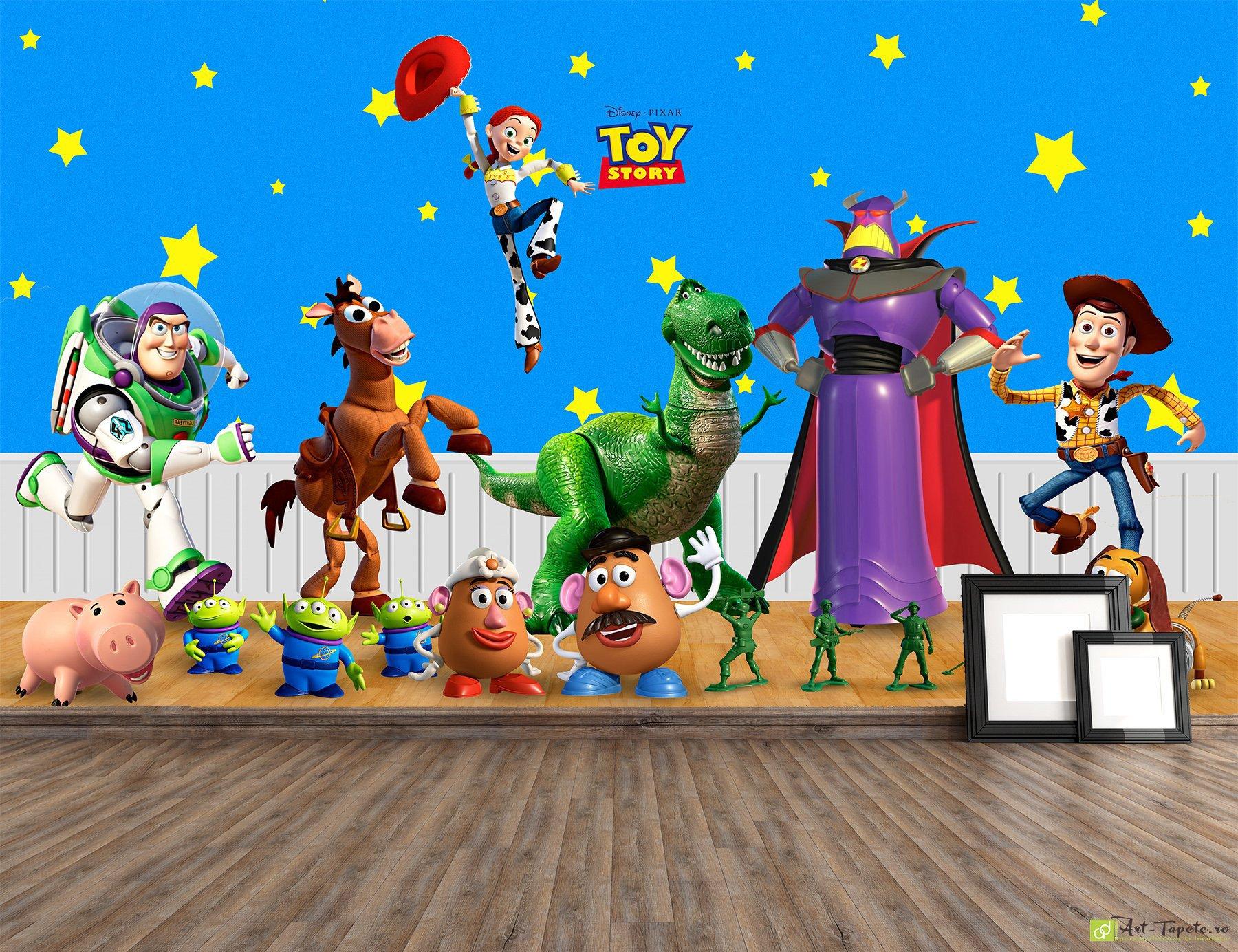 Children S Wallpaper Wall Murals Toy Story Disney Fototapet Art Digital Wallpaper The Best Selection Of Wall Murals And Photo Murals For Children S Buy Online