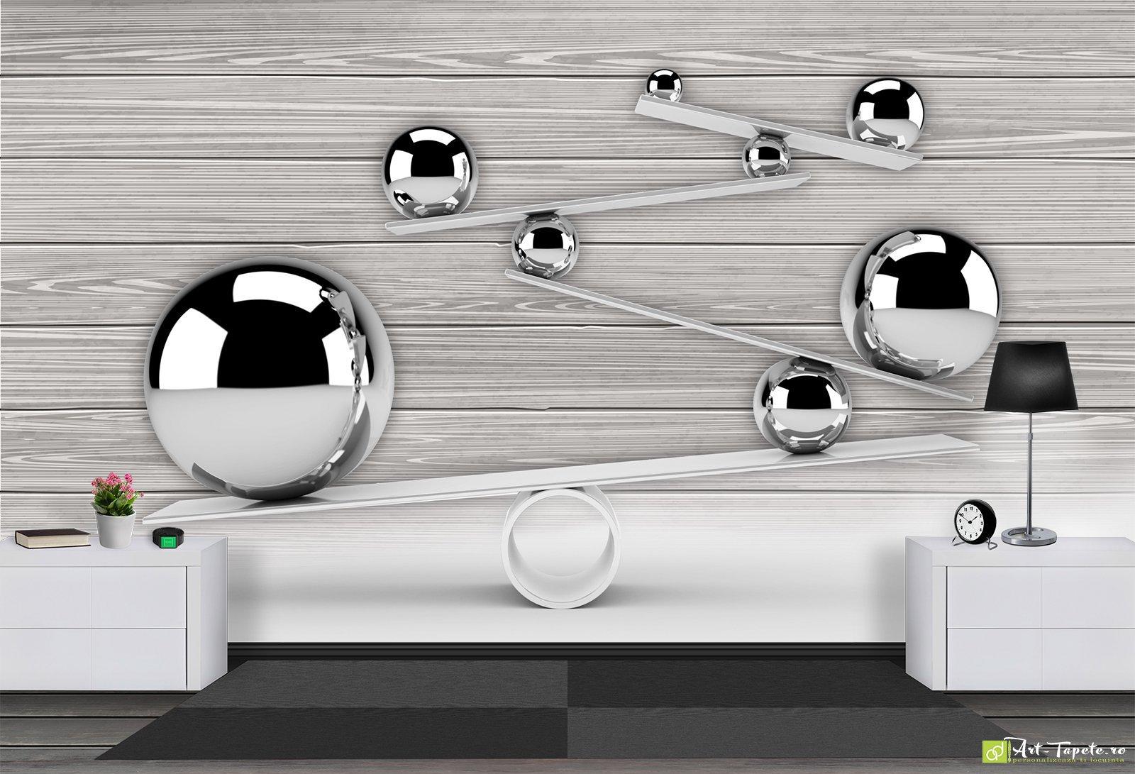 Wall Murals Digital Wallpaper 3d Abstraction Balls