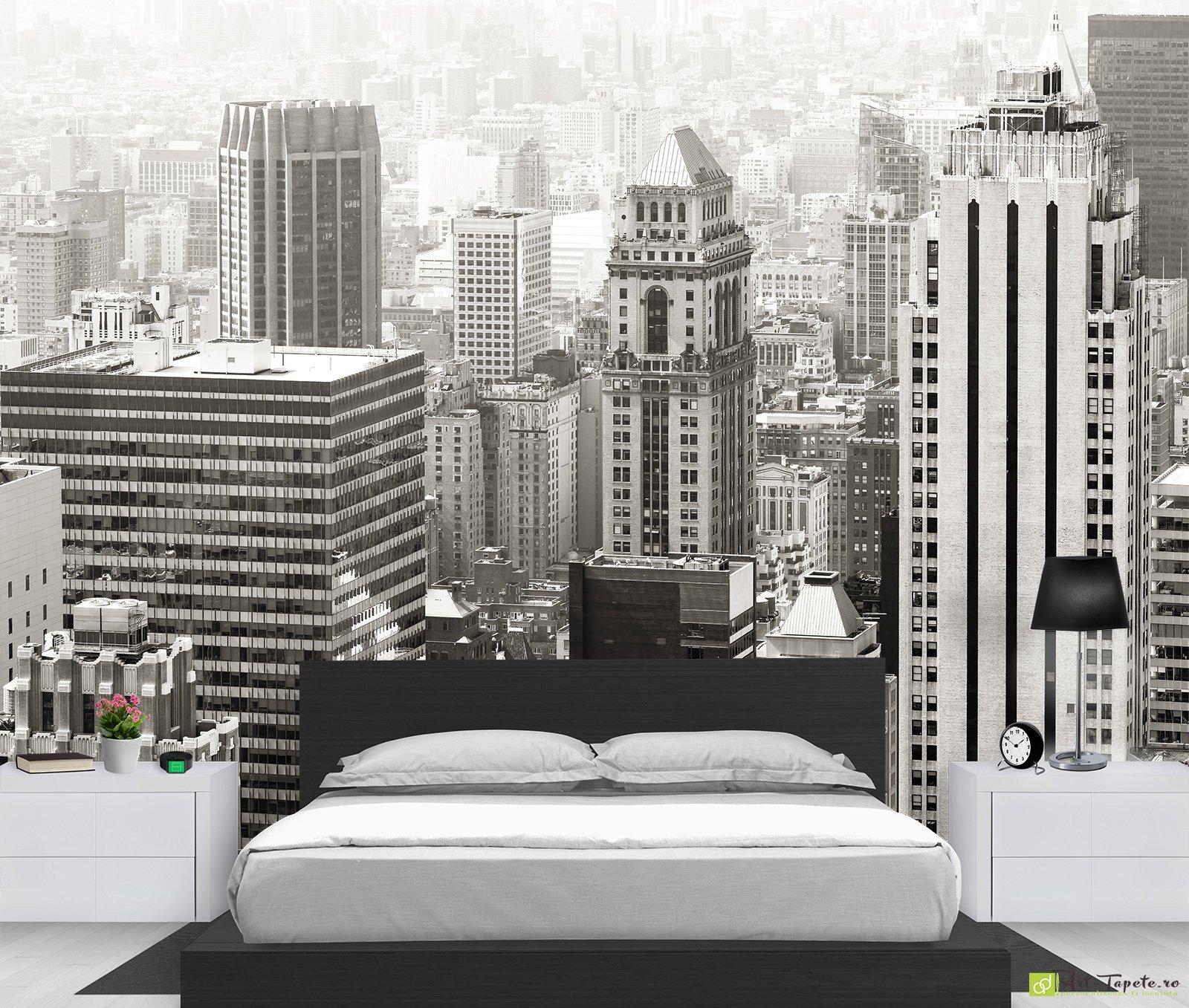 City Wallpaper Wall Murals Black White New York City7
