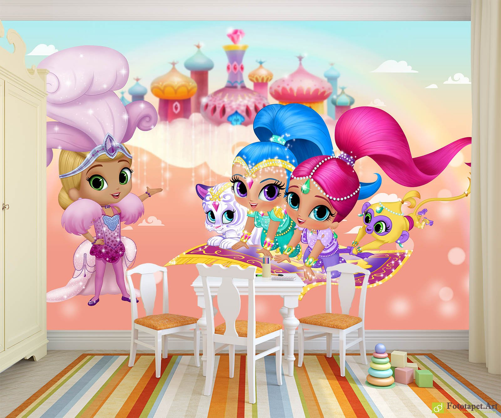 Childrens Wallpaper Wall Murals Shimmer And Shine
